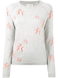 Chinti And Parker Star Sweater Women Cashmere S Grey