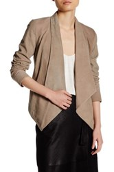 Lamarque Genuine Leather Levina Jacket Brown