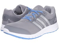Adidas Galaxy Elite 2 Mid Grey Silver Metallic Super Blue Men's Running Shoes Gray