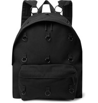 Raf Simons Eastpak Padded Pak'r Embellished Canvas Backpack Black