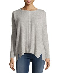 Design History Cashmere Dolman Long Sleeve Sweater Oxfrdhtrgy