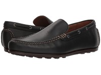 Frye Venetian Driving Moc Black Leather Slip On Shoes