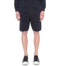 Barbour Wataka Cotton Shorts Navy