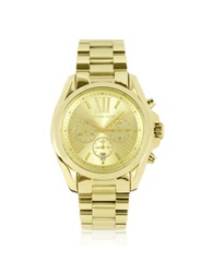 Michael Kors Mid Size Bradshaw Chronograph Watch Gold