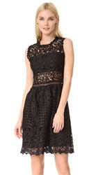 Ministry Of Style Lush Lace Dress Black