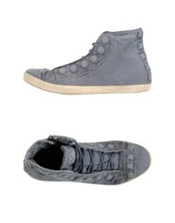 Fornarina High Tops And Trainers Slate Blue