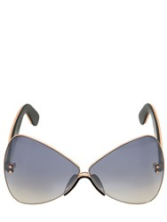 Marco De Vincenzo Large Butterfly Sunglasses