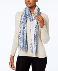Steve Madden Urban Reptile Wrap And Scarf In One Blush