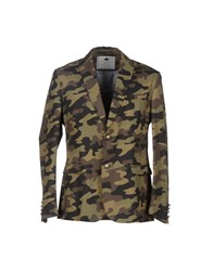 Macchia J Suits And Jackets Blazers Men Military Green