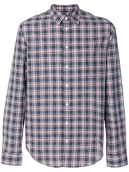 Zadig And Voltaire Sigmund Rhythm Shirt Blue