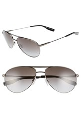Boss Men's '0617 S' 60Mm Aviator Sunglasses Dark Ruthenium Matte