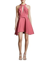 C Meo Collective Asymmetric Halter Dress Dusty Rose