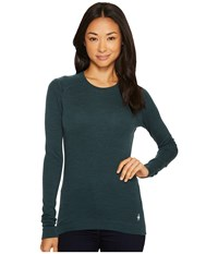Smartwool Nts Mid 250 Crew Top Lochness Heather Long Sleeve Pullover Multi