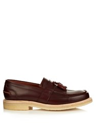 Cheaney Durham Leather Loafers Burgundy