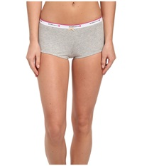 Bcbgeneration Claudia The Be Right Boyshort Heather Gray Women's Underwear