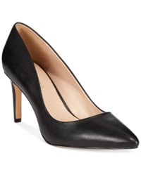 Charles By Charles David Lesslie Pumps Women's Shoes Black Leather