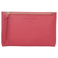 Liebeskind Berlin Kiwi F8 Leather Pouch Purse Coral