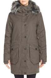 Women's Bench 'Wolfish Ii' Water Resistant Parka With Faux Fur Trim