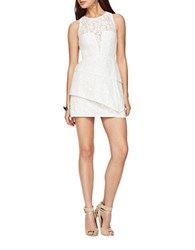 Bcbgmaxazria Daegan Lace Dress White