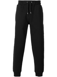 Mcq By Alexander Mcqueen Logo Embroidered Track Pants Black