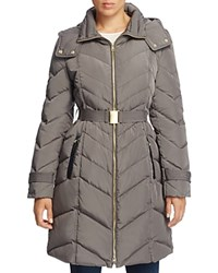 Cole Haan Chevron Quilted Jacket Carbon