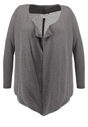 Junarose Jrdami Cardigan Medium Grey Melange Mottled Light Grey