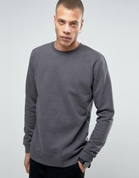 Dr. Denim Dr Smith Oversized Sweatshirt Asphalt Grey