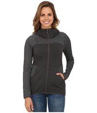 The North Face Harmony Park Pullover Charcoal Grey Heather Women's Long Sleeve Pullover Gray