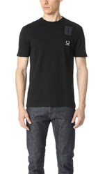 Fred Perry By Raf Simons Denim Pocket Tee Black