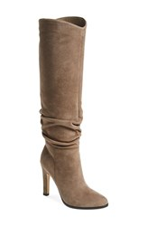 Women's Ivanka Trump 'Ellis' Knee High Boot Taupe Suede