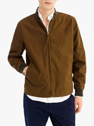 J.Crew Relaxed Bomber Jacket Rustic Olive