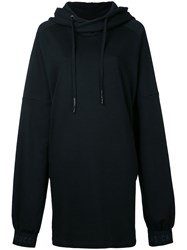 Strateas Carlucci Holster Hoodie Women Cotton S Black
