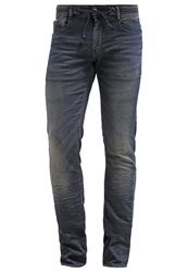 Japan Rags Slim Fit Jeans Blue Blue Black Denim