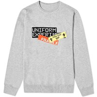Uniform Experiment Ue Attention Tags Crew Knit Grey