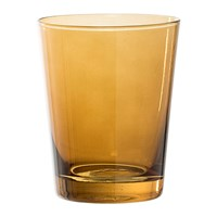 Bloomingville Brown Glass Bathroom Tumbler