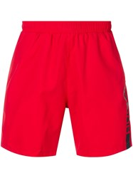 Hugo Boss Swimming Trunks Red