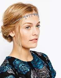 Asos Flapper Jewel Headband Blue