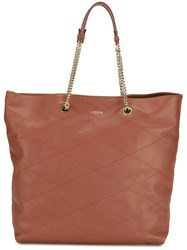 Lanvin 'Carry Me' Tote Brown