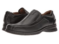 Dockers Agent Black Tumbled Leather Men's Shoes