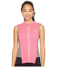 Pearl Izumi Select Escape Sleeveless Jersey Screaming Pink Parquet Women's Sleeveless