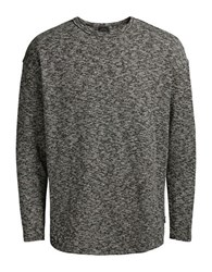 Jack And Jones Jorethan Crewneck Textured Pullover Thyme