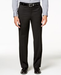 Alfani Men's Traveler Black Solid Classic Fit Pants Only At Macy's
