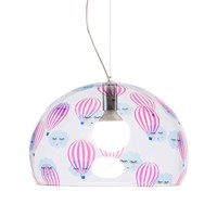 Kartell Children's Fl Y Ceiling Light Balloon Pink