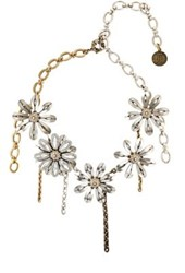 Lanvin Women's Flower Charm Collar No Color