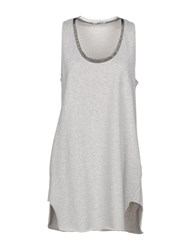 Hope Collection Short Dresses Grey