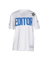 The Editor Topwear T Shirts Women White