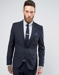 Only And Sons Talbot Blazer In Navy Navy