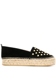 Moschino Teddy Bear Studs Espadrilles Black