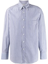 Brunello Cucinelli Striped Fitted Shirt 60