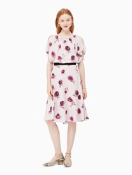 Kate Spade Encore Rose Flutter Dress